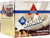 Atkins Advantage Low Carb Ready To Drink Shake Creamy Vanilla