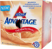 Atkins Advantage Low Carb Ready To Drink Shake Cafe Mocha