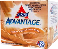 Atkins Advantage Low Carb Ready To Drink Shake Vanilla Caramel Creme