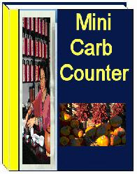 Amazing 17 page Free Mini Carb Counter.