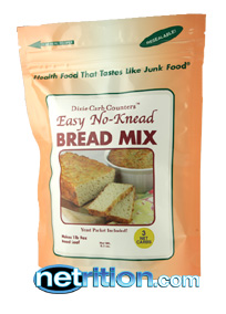 Carb Counters Easy No Knead Bread Mix