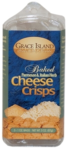 Grace Island Baked Cheese Crisps