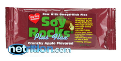 Carb Counters Soy Rocks plus Flax Bars